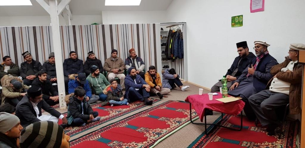Weingarten: Sitzung Mit Dr. Athar Zubair Sahib